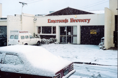 In October 1992, The Emerson Brewing Co Ltd was established at 4 Grange Street, Dunedin.